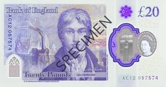 New £20 note back