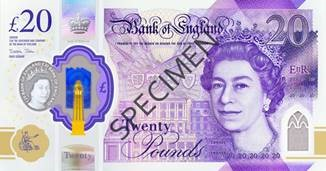 New £20 note front